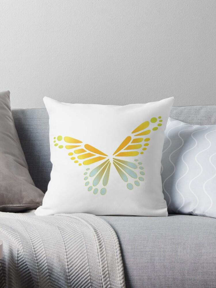 butterfly by autrouvetout