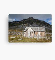 Spitsbergen History - Svalbard Arctic Canvas Print