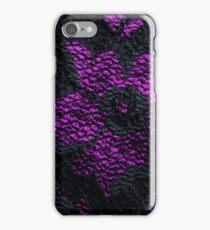 Elegant Gothic Lace Black and Purple Phone Case iPhone Case/Skin