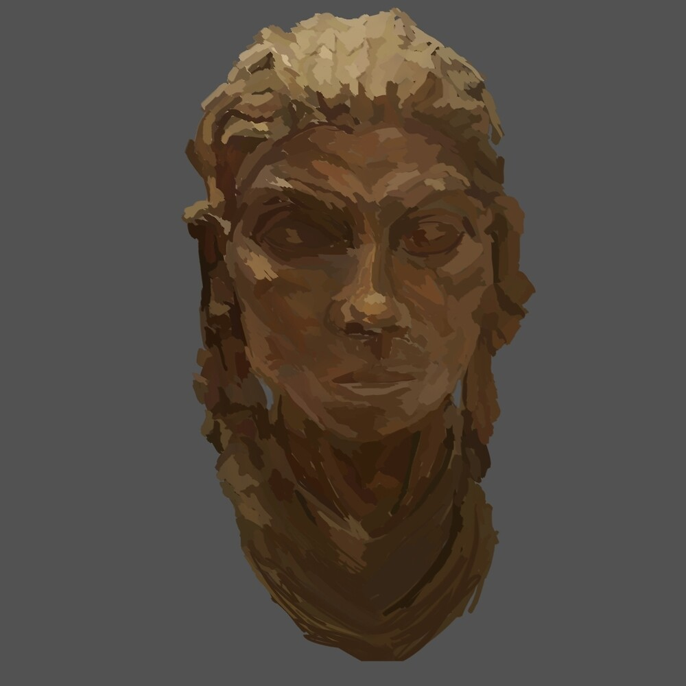 Bronze Face by Nutcase