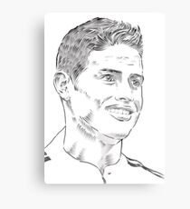 James Rodriguez Dibujo Lienzos Redbubble