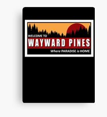 Welcome to Wayward Pines Canvas Print