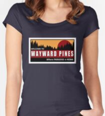 Welcome to Wayward Pines Women's Fitted Scoop T-Shirt