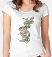 The Colt ~ Green Women's Fitted Scoop T-Shirt