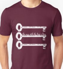 The Man With The Key Is King T-Shirt