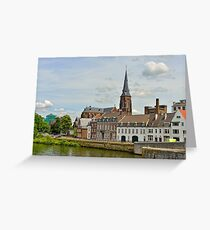 Maastricht, Netherlands Greeting Card