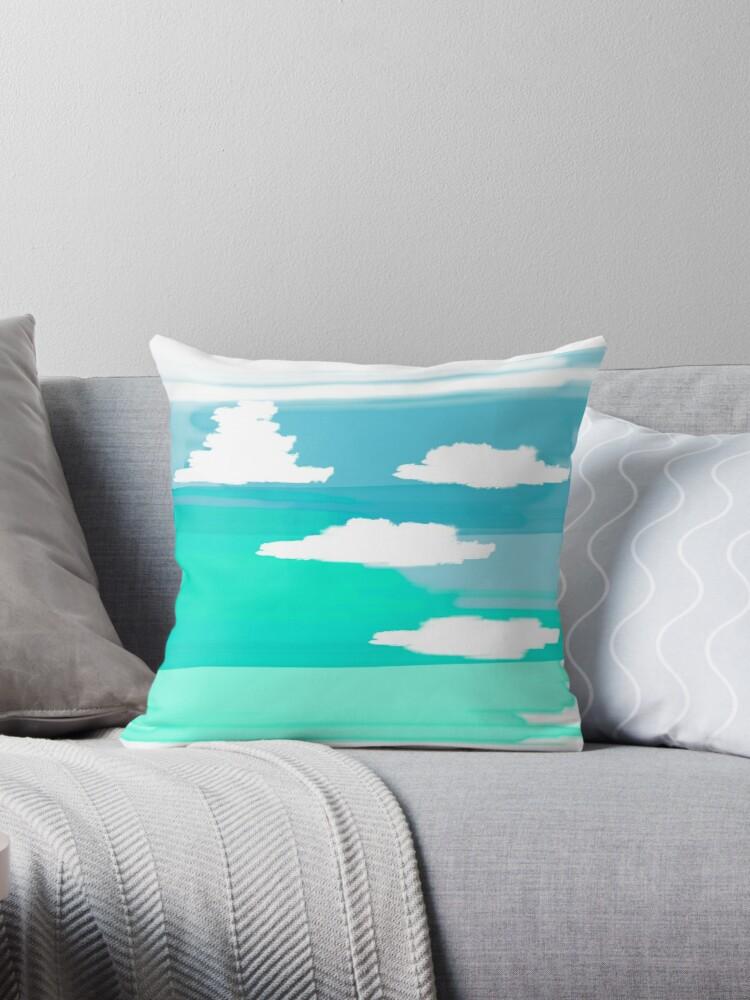 Cumulus Ocean silhouette by Baharcreative