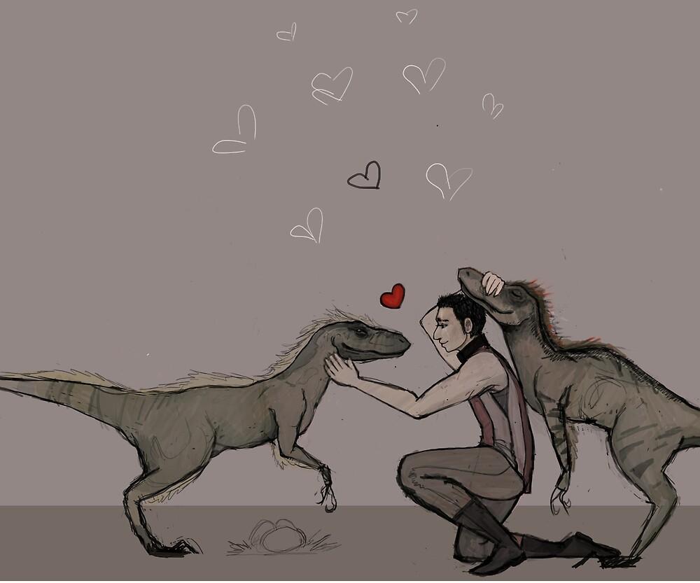 Raptor Squad by Susurratrix