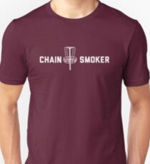 Chain Smoker T-Shirt for Disc Golfers T-Shirt