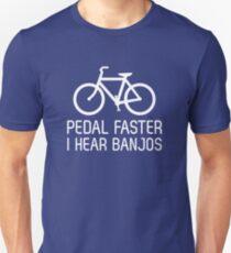 Pedal faster I hear banjos Unisex T-Shirt