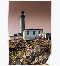 Ardnamurchan Lighthouse Poster