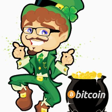Bitcoin Leprechaun by musability