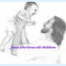 """Jesus loves all"" by Norma-jean Morrison"