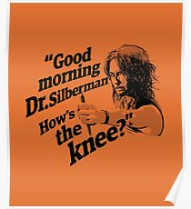Good morning Dr. Silberman. How's the knee? Poster