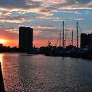 Southport Sunset. Gold Coast, Queensland, Australia. by Ralph de Zilva