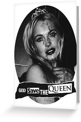 Lindsay Lohan 'God Save the Queen' by SameOldChic