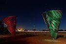 Water Dance Sculptures Western Australia  by EOS20
