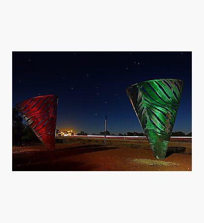 Water Dance Sculptures Western Australia  Photographic Print