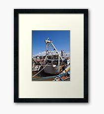 the vessel Framed Print