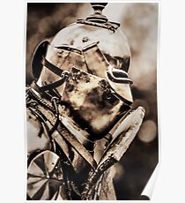 Armour plated Poster