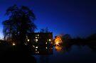 Parndon Mill at Night by Nigel Bangert
