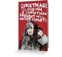 Winthorpe alternative Christmas card Greeting Card