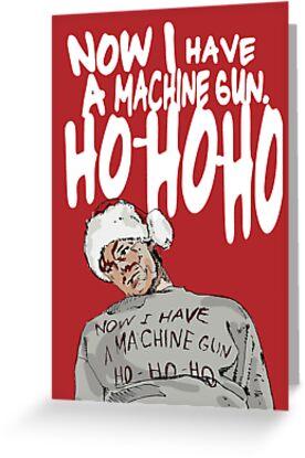 Die Hard alternative Christmas card by Socialfabrik