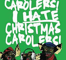 Gremlins alternative Christmas card by Socialfabrik