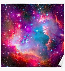 Small Magellanic Cloud - SMC Galaxy Poster