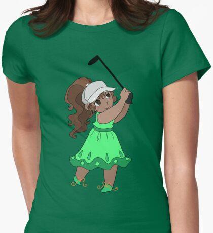 Cute Golfer Girl T-Shirt