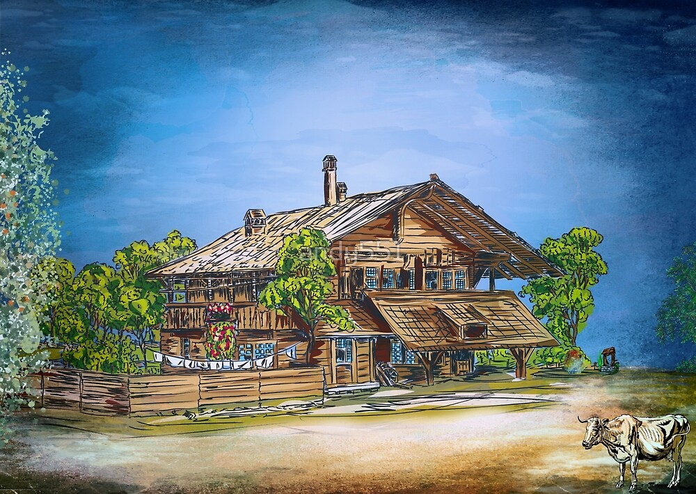 OLD COTTAGE by andy551