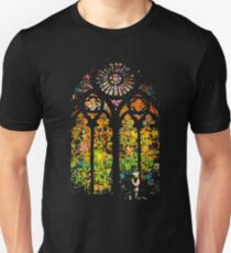 Banksy Stained Glass Window T-Shirt