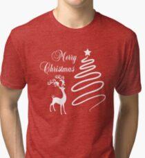 Fröhliche Weihnachten Vintage T-Shirt