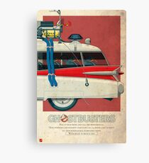 Ecto-1 triptych III of III Canvas Print