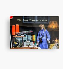 The Time Travellers Shop Metal Print