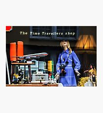 The Time Travellers Shop Photographic Print