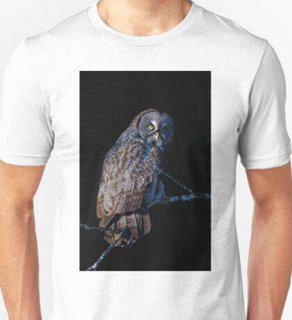 Spotlit - Great Grey Owl T-Shirt