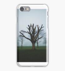 Dead Tree in Fog, Brooke Park  iPhone Case/Skin
