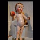 Baby Jesus with an apple by cammisacam