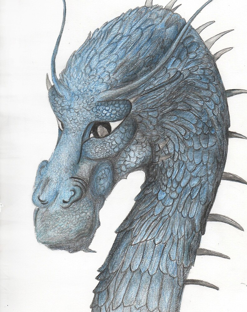 Blue Dragon by ItsLaylaHere