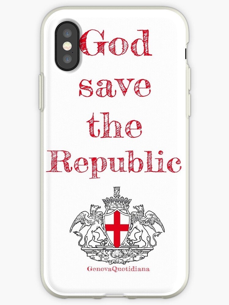God Save The Republic Vert by Genova Quotidiana