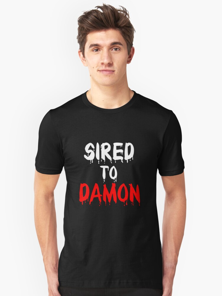 Sired to Damon Unisex T-Shirt Front