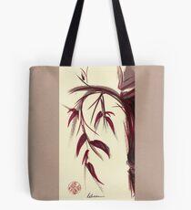 MUSE - Original Zen Ink Wash Sumi-e Asian Bamboo Painting Tote Bag