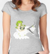 Gumi-God's and Energy Cheapskate Women's Fitted Scoop T-Shirt