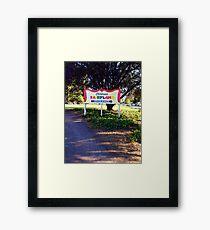 Follow Me to Fairyland Framed Print