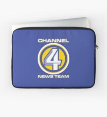Channel 4 News Team (ANCHORMAN) Laptop Sleeve