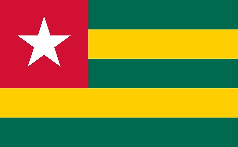 National Flag of Togo  by abbeyz71