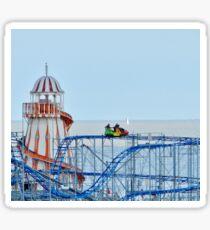 Clacton pier Sticker