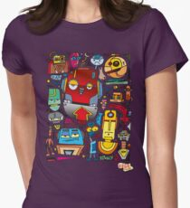 CRAZY DOODLE Womens Fitted T-Shirt