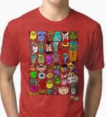 CRAZY DOODLE 2 Tri-blend T-Shirt
